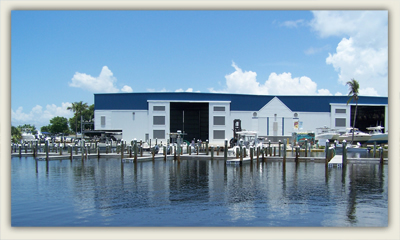 Docks and Boat Storage at Four Winds Marina